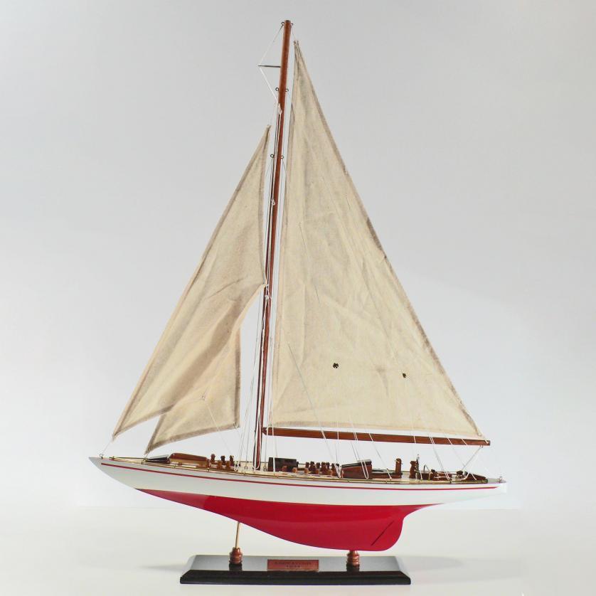 Handgefertigtes Segelschiffmodell der Endeavour