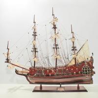 Handgefertigtes Schiffsmodell aus Holz der Fairfax