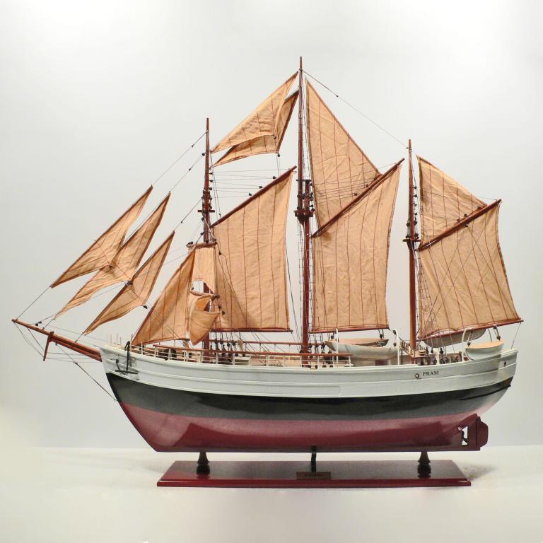 Fram Schiffsmodell