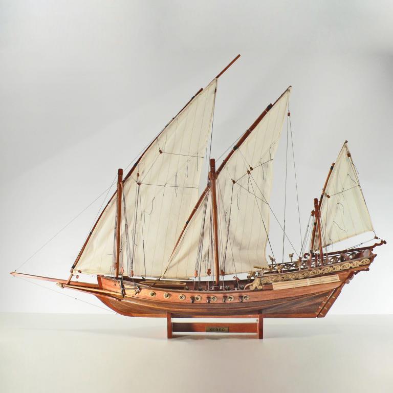 Xebec Schiffsmodell