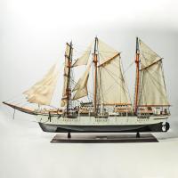 Handgefertigtes Schiffsmodell aus Holz der Marcator