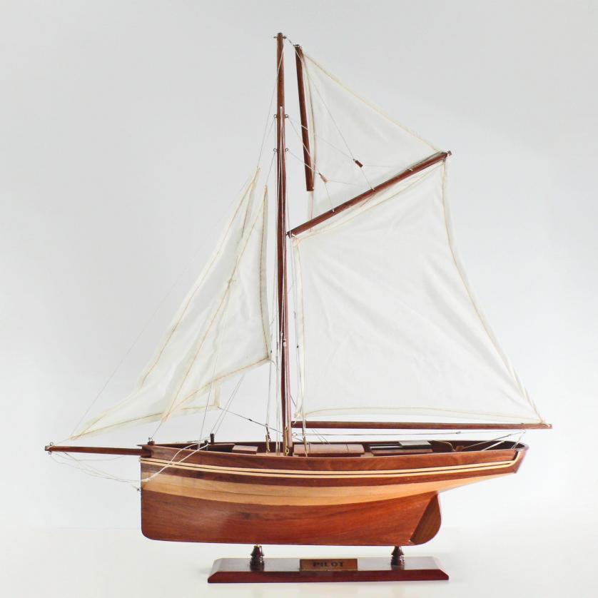 Handgefertigtes Segelschiffmodell der Pilot (50cm)