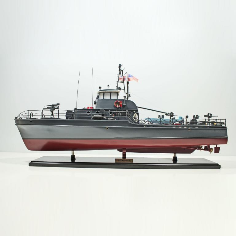 US Küstenwache Schiffsmodell
